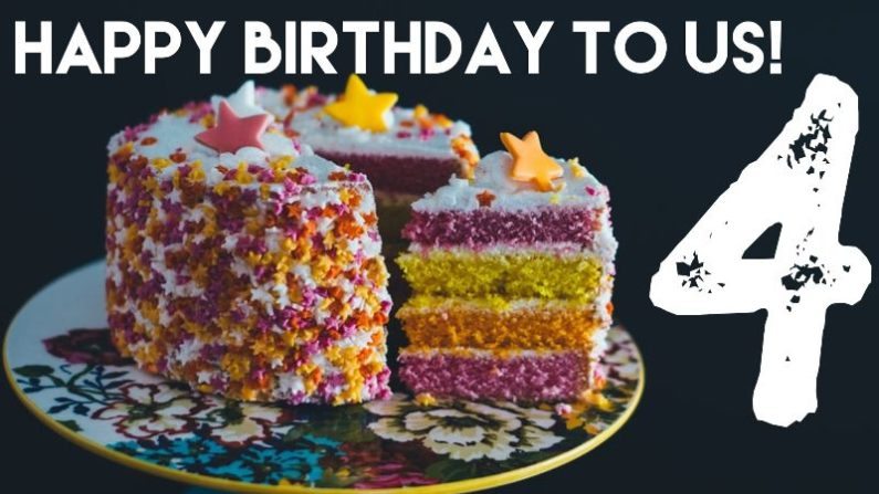 It's our birthday! A look back at our growth (and yours) this year.